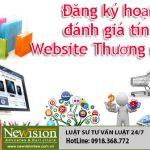 Đăng ký đánh giá tín nhiệm Website Thương mại điện tử tại Newvision Law