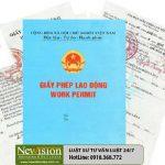 Giấy phép lao động cho người lao động nước ngoài làm việc tại Việt Nam