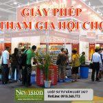 Đăng ký tham gia hội chợ, triển lãm thương mại ở nước ngoài