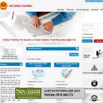 Hủy bỏ, chấm dứt đăng ký sàn giao dịch điện tử