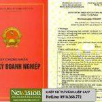 Xin cấp lại giấy chứng nhận đăng ký doanh nghiệp