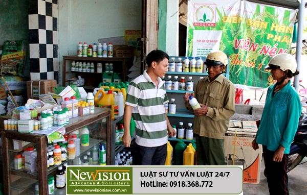 Xin giấy chứng nhận buôn bán thuốc bảo vệ thực vật