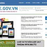 Đăng ký website cung cấp dịch vụ thương mại điện tử