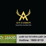 """Công ty Newvision Law là đại diện đăng ký nhãn hiệu  """"ATN FASHION"""