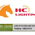 Đăng ký nhãn hiệu cho công ty TNHHthiết bị điện và chiếu sáng HC Lighting Việt nam