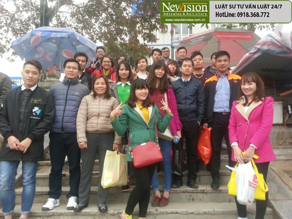 CBCNV Hãng Luật NewVision Law lễ chùa đầu năm 2016