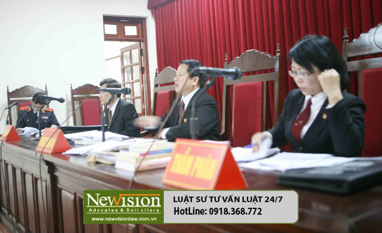 Luật sư Newvision Law bảo vệ quyền lợi ích hợp pháp cho nguyên đơn