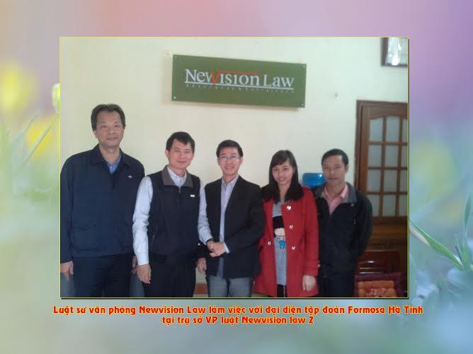 #Newvision Law hợp tác với Tập đoàn  Formosa thành công tốt đẹp#