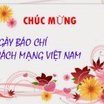 Luật sư Tuấn tham gia lễ kỷ niệm 91 năm Ngày Báo chí Cách Mạng Việt Nam