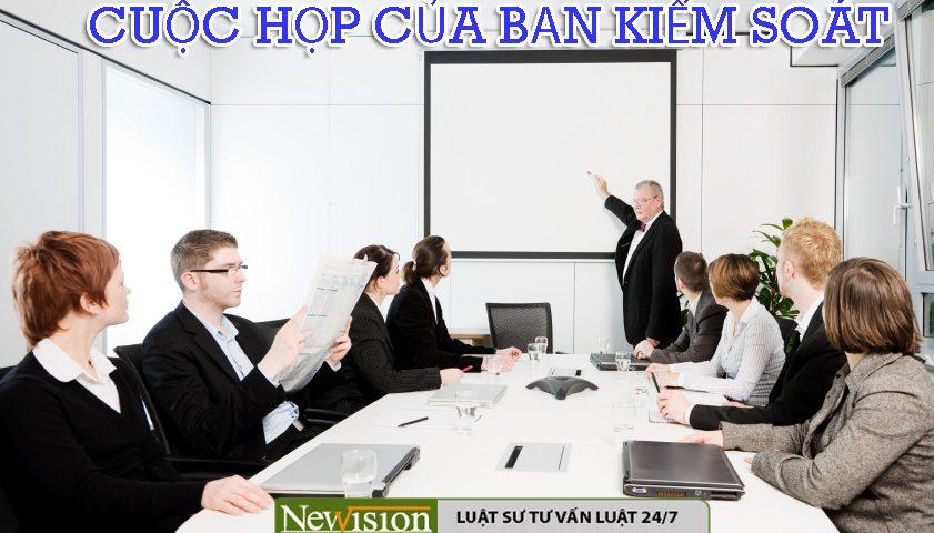 cuộc họp ban kiểm soát