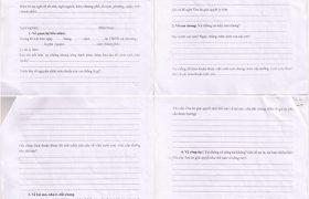 Hướng dẫn viết mẫu đơn xin ly hôn tại Quận Tây Hồ
