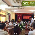 Luật sư Tuấn tham dự hội nghị đối thoại với Doanh nghiệp tại Sở Tư Pháp