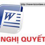 Nghị quyết số 01/2005/NQ-HĐTP của hội đồng thẩm phán