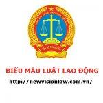 Bảng thanh khoản hợp đồng gia công