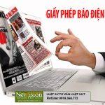 ++Newvision Law tư vấn làm Giấy phép hoạt động báo điện tử online