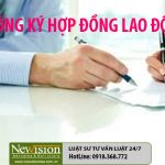##Không ký kết hợp đồng lao động có vi phạm pháp luật không?