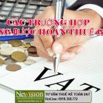 2018! Cảnh báo 4 trường hợp không được hoàn thuế GTGT (VAT)