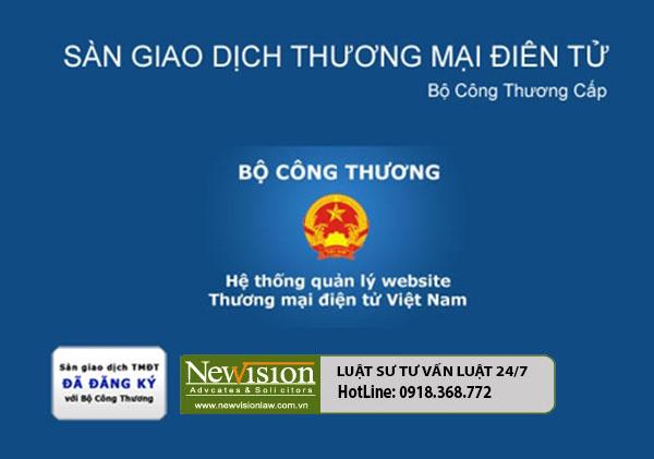 Quy trình đăng ký xin giấy phép sàn giao dịch thương mại điện tử!!!
