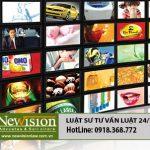 Xin giấy phép thực hiện hoạt động quảng cáo truyền hình