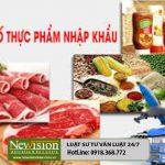 NEW 2018+! Thủ tục công bố thực phẩm nhập khẩu cho các doanh nghiệp