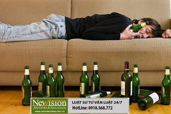Nhậu say xỉn gây ầm ĩ, phạt như nào?
