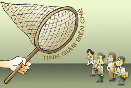 Chỉ thị đẩy mạnh chủ trương tinh giảm biên chế của nhà nước!!!