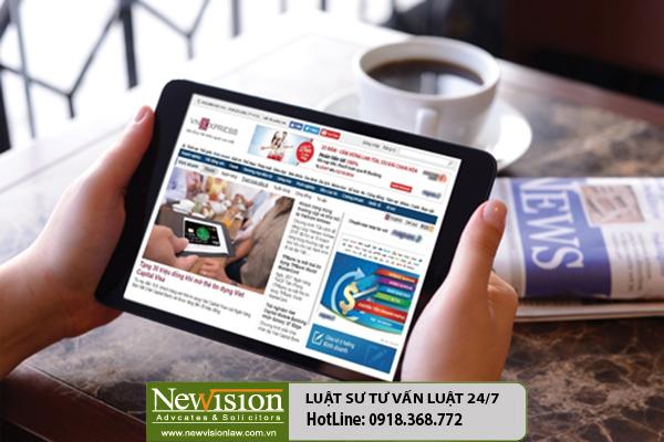 Những quy định mới trong việc cấp giấy phép hoạt động báo điện tử