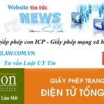 #!Hồ sơ xin cấp giấy phép thiết lập trang thông tin điện tử tổng hợp (ICP)