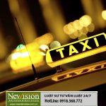 Thủ tục xin cấp giấy phép cho lĩnh vực vận tải hành khách bằng taxi