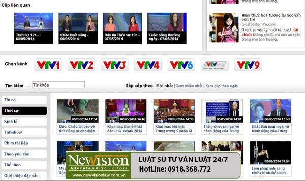 Thủ tục cấp giấy phép sản xuất kệnh truyền hình trong nước