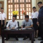 Lễ ký kết hợp tác giữa Tạp chí điện tử Môi trường và Đô thị Việt Nam và Công ty Luật TGS/New Vision Law