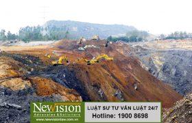 Xử lý hành vi vi phạm về cải tạo, phục hồi môi trường khi khai thác khoáng sản