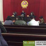 NEW#!Hãng Luật TGS khởi kiện Trưởng công an thành phố Uông Bí