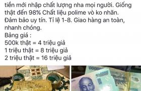 Hoạt động mua bán tiền giả dưới góc độ pháp luật Việt Nam