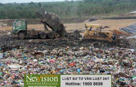 Khoảng cách an toàn của bãi chôn lấp chất thải rắn sinh hoạt