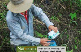 Xử lý vi phạm quy định về sử dụng thuốc bảo vệ thực vật