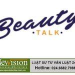 NewVision LawFirm đại diện đăng ký thành công nhãn hiệu Beauty talk