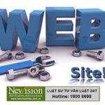 Dịch vụ đăng ký bản quyền website tại Newvision LawFirm