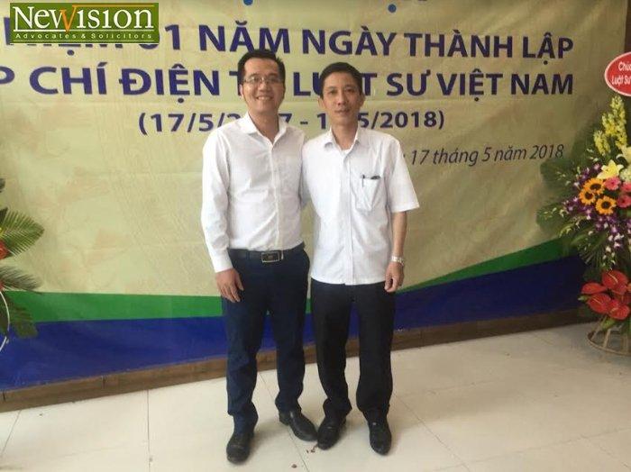 Luật sư Dương Đức Tâm – Hãng Luật TGS và Ths. LS Liêu Chí Trung – Phó Tổng Biên tập Tạp chí điện tử Luật sư Việt Nam