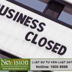Các trường hợp giải thể và điều kiện giải thể doanh nghiệp