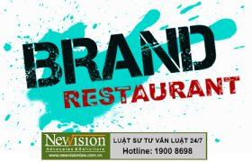 Quá trình thực hiện đăng ký nhãn hiệu cho nhà hàng