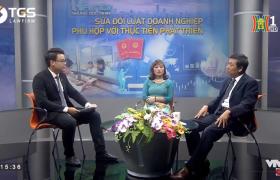 Luật sư Lê Ngọc Khánh tham gia đàm thoại về luật Doanh nghiệp sửa đổi của đài truyền hình H1