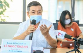 """Tọa đàm trực tuyến """"Cá nhân làm từ thiện thế nào cho đúng?"""": Tổng hợp ý kiến của Đại tá, Luật sư Lê Ngọc Khánh"""